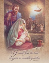 Ye Shall Find the Baby (Luke 2:12) Tabloid Bulletins, 100