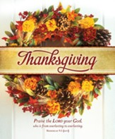 Thanksgiving Praise (Nehemiah 9:5, NIV) Large Bulletins, 100