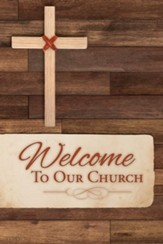 Welcome to Our Church (Psalm 144:15, NIV) Welcome Folders, 12