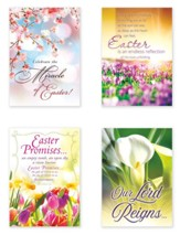 He Lives! (KJV) Box of 12 Easter Cards