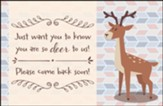 You are DEER to Us! (Philippians 1:3, NIV) Postcards, 25