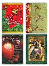 Feliz Navidad (RVR1960) Box of 12 Spanish Christmas Cards