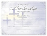 Membership (1 John 1:7, KJV) Embossed Certificates, 6