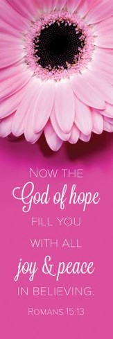 God of Hope (Romans 15:13, KJV) Bookmarks, 25