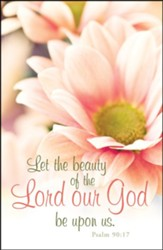 Let the Beauty of the Lord (Psalm 90:17) Postcards, 25