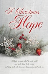 A Christmas Hope (Matthew 1:23) Bulletins, 100