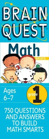 Brain Quest Math Basics Grade 1