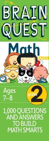 Brain Quest Math Basics Grade 2