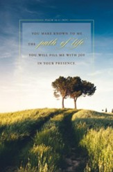 Path of Life (Psalm 16:11, NIV) Bulletins, 100