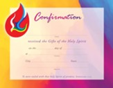 Confirmation Dove (Ephesians 1:13, KJV) Certificates, 25