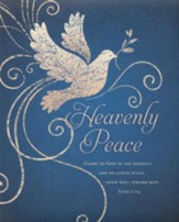 Heavenly Peace (Luke 2:14) Large Bulletins, 100