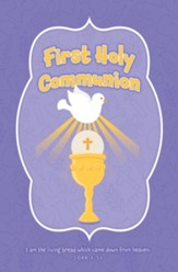 First Holy Communion (John 6:51) Bulletins, 100