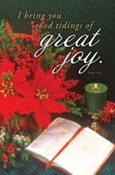 Great Joy (Luke 2:10, KJV) Bulletins, 100