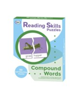 Reading Skills Puzzles: Compound Words