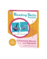 Reading Skills Puzzles: Consonant Blends and Digraphs