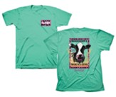 Move Mountains Shirt, Teal, Small