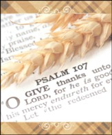 Shard of Wheat Large Thanksgiving Bulletins, 100