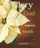 Glory to God in the Highest Large Christmas Bulletins, 100