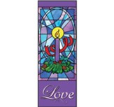 Celebrate Advent X-Stand Banner: Love (23 inch x 63 inch)
