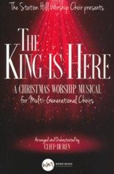 The King Is Here, Choral Book