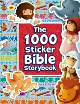 The 1000 Sticker Bible Storybook  - Slightly Imperfect