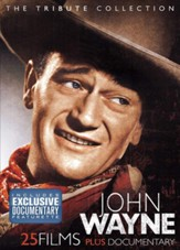 John Wayne: The Tribute Collection, 25 Films plus Documentary - DVD