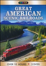 Great American Scenic Railroads 3pk - DVD