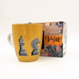 Ajedrez, Taza, Coleccion Hombres de Valor  (Chess, Mug, Men of Courage Collection, Spanish)