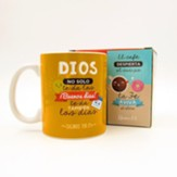 Dios no solo te da, Taza, Coleccion Comparte  (God Not Only Gives, Mug, Share Collection, Spanish)