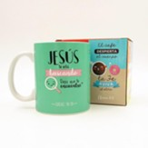 Jesus te esta buscando, Taza, Coleccion Comparte  (Jesus Is Looking For You, Mug, Share Collection, Spanish)