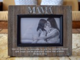 Portaretrato - Mama  (Mother Photo Frame, Spanish)