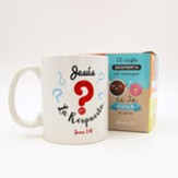 Jesus es la respuesta, Taza, Coleccion Comparte  (Jesus Is The Answer, Mug, Share Collection, Spanish)