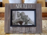 Portaretrato - Abuelo  (Grandfather Photo Frame, Spanish)