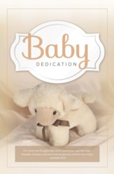 For I Know (Jeremiah 29:11, NKJV) Baby Dedication Bulletins, 100