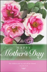 Happy Mother's Day, Call Her Blessed, (Proverbs 31:28, KJV) Bulletins, 100