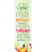 Fruit of the Spirit (Galatians 5:22-23, CSB) Adult Bookmarks, 25