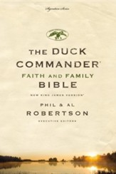 NKJV Duck Commander Bible, Imitation Leather Brown