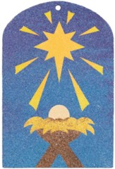 Miraculous Mission: Jesus Is Born Sand Art Craft (pkg. of 12)