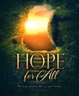 Hope for All (Mark 16:6, NIV) Bulletins, 100