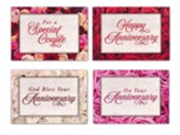 Petals And Promises (KJV) Box of 12 Anniversary Cards