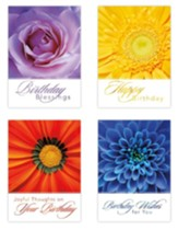 Brilliant Birthdays (NIV) Box of 12 Birthday Cards