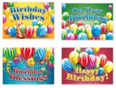 Birthday Blessings (NIV) Box of 12 Birthday Cards