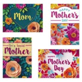 Flowers For Moms (KJV) Box of 12 Mother's Day Cards