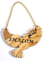 Hanging Dove Olive Wood Ornament