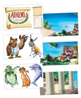Athens: Giant Decorating Posters (set of 6)