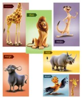 Roar: Giant Bible Memory Buddy Poster Pack (set of 6, 3 ft. x 5 ft.)