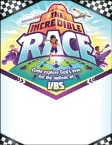 The Incredible Race: Promotional Posters (pkg. of 10)