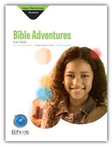 Echoes: Upper Elementary Bible Adventures (Student Book), Fall 2020
