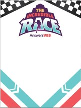 The Incredible Race: Name Tags (pkg. of 60)