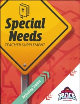 The Incredible Race: Special Needs Teacher Guide with CD-Rom